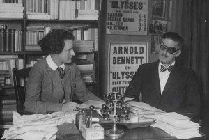 James Joyce and Sylvia Beach