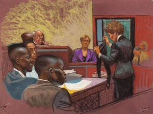 Central Park Five courtroom proceedings