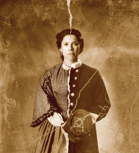 Romi Dias  as Loreta Janeta Velazquez  in Rebel