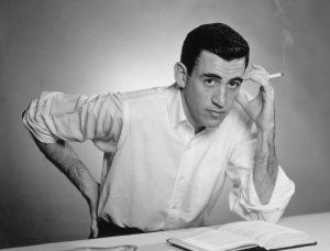J. D. Salinger in 1952. The limelight never became him.  Photo courtesy Antony DiGesu.