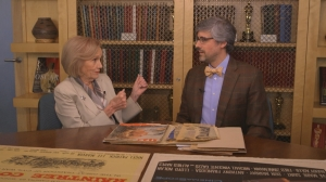 Eva Marie Saint with Mo Rocca EMS3