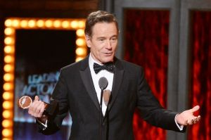 Can Bryan Cranston's year get any better?  Now he's a Tony winner for his riveting turn as LBJ in ALL THE WAY.
