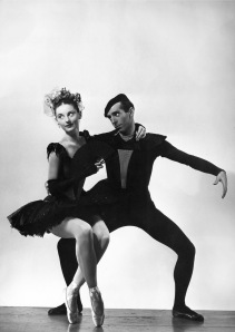 Tanaquil Le Clercq and Jerome Robbins.  Photo: Augusta Films.