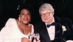 A fine romance.  Chaz and Roger Ebert.
