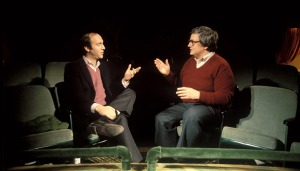 "Gene Siskel and Roger Ebert ""At the Movies."""