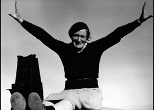 Dorothea Lange in 1937.  Photo courtesy Rondal Partridge Archives.
