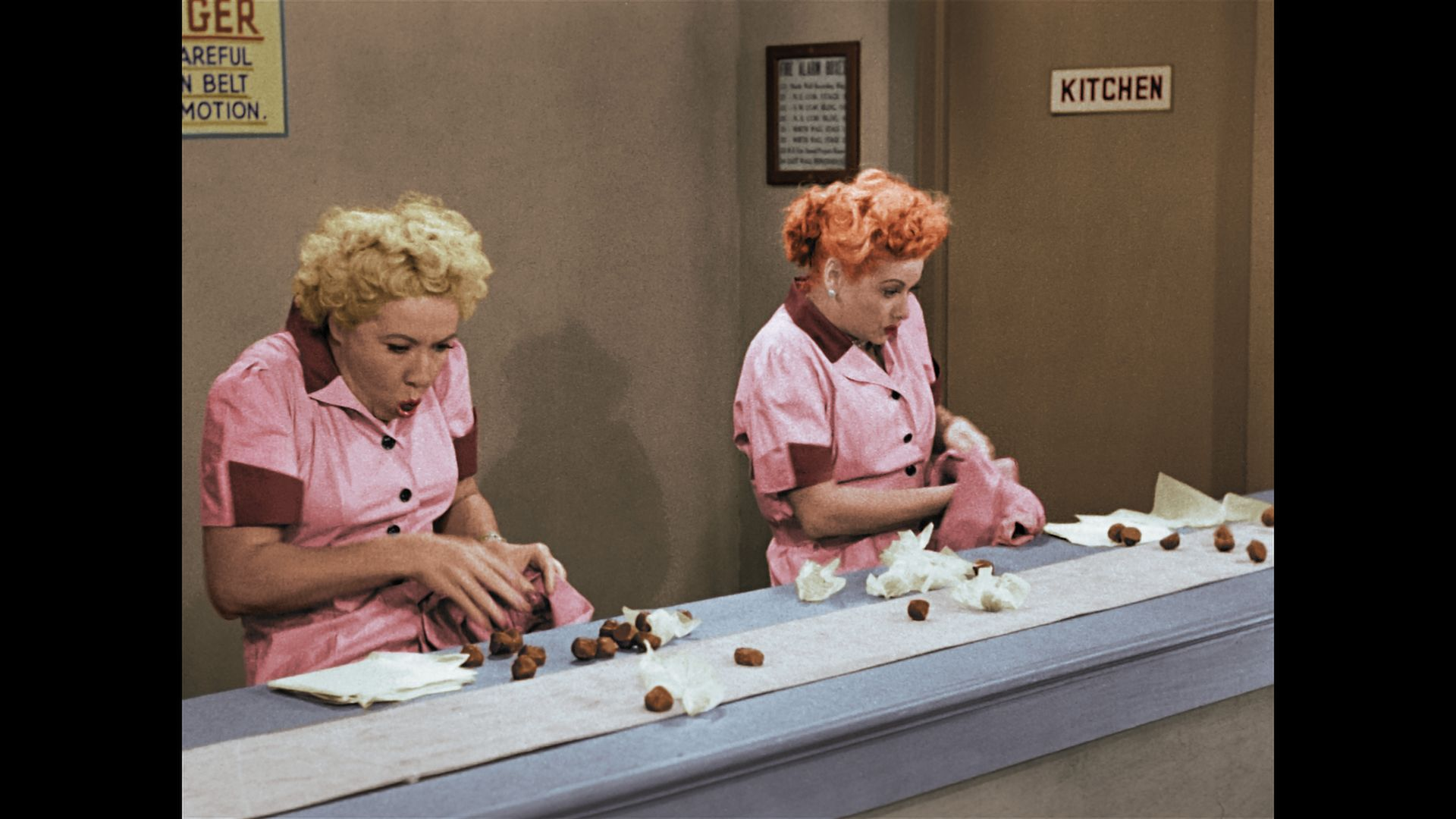too many chocolates too little time lucy and ethel tackle job switching - I Love Lucy Christmas Episode