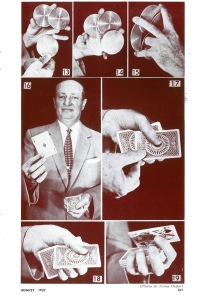 Ricky Jay's grandfather, Max Katz, was a well-known amateur magician and president of  the Society of American Magicians.  Photo courtesy of the Society of American Magicians.
