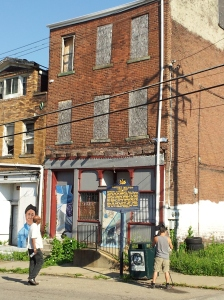 August Wilson's childhood home (then without running water) in Pittsburgh's Hill district  is now on the National Register of Historic Places.  Photo courtesy WQED Pittsburgh.
