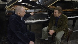 Seymour Bernstein shares a wealth of knowledge about music and life with filmmaker Ethan Hawke.  Photo courtesy of Ramsey Fendall.  © Risk Love LLC.  Sundance Selects release.