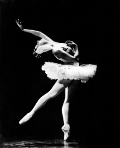 "Alicia Alonso as she appeared in the American Ballet Theatre production of  ""Swan Lake,"" circa 1945.  She recalls her illustrous caree with ABT in AMERICAN BALLET THEATRE: A HISTORY. Photo: Maurice Seymour."