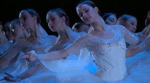 "American Ballet Theatre's Corps de Ballet perform ""La Bayadere"" in AMERICAN BALLET THEATRE: A HISTORY.  Photo: Buddy Squires, ASC."