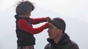 Tashi Drolma and Lobsang Phunstock. Photo courtesy HBO.