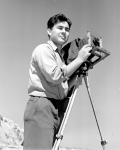 Pedro E. Guerrero landed in his first photography class by accident at the Art Center School in Los Angeles, circa 1935. Photo: Pedro E. Guerrero Archives.