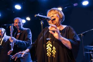Be prepared to get caught up in Mavis Staples' glorious spirit in MAVIS! Photo: Miikka Skaffari/Film First. Courtesy HBO.