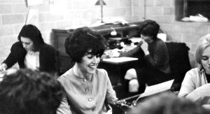 College days at Wellesley. Photo: Wellesley College. Courtesy HBO.