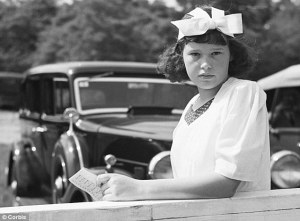 Young Gloria Vanderbilt.