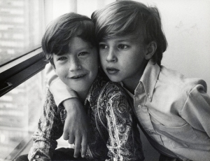 Anderson and Carter Coooper, circa 1974. Photo courtesy HBO.