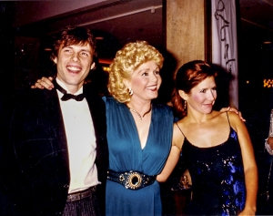 Superstar Debbie Reynolds loved the spotlight but never let her children go (with Todd and Carrie Fisher). Photo: Fisher Family Archives. Courtesy of HBO.