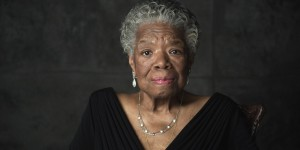 Dr. Maya Angelou on the set of OPRAH'S MASTER CLASS, circa January 2011. Photo courtesy OWN.