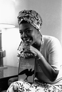 Maya Angelou, circa 1971, was hired to write the script and music, as well as direct the film version of her best-selling 1969 autobiography, I KNOW WHY THE CAGED BIRD SINGS. Photo: © WF/AP/Corbis