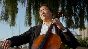 Cellist Yo-Yo Ma as seen in THE MUSIC OF STRANGERS: YO-YO MA AND THE SILK ROAD ENSEMBLE. Photo courtesy HBO.