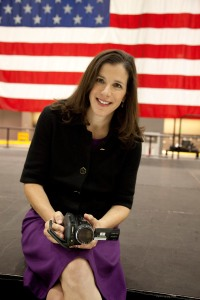 Alexandra Pelosi, producer/director of THE WORDS THAT BUILT AMERICA. Photo: Janet Van Ham. Courtesy HBO.