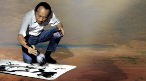 Despite suffering the indignities of racial profiling and discrimination, Chinese-American Tyrus Wong (1910-2016) persevered and created a distinguished body of work as a fine artist and designer. Photo courtesy of the Tyrus Wong family.