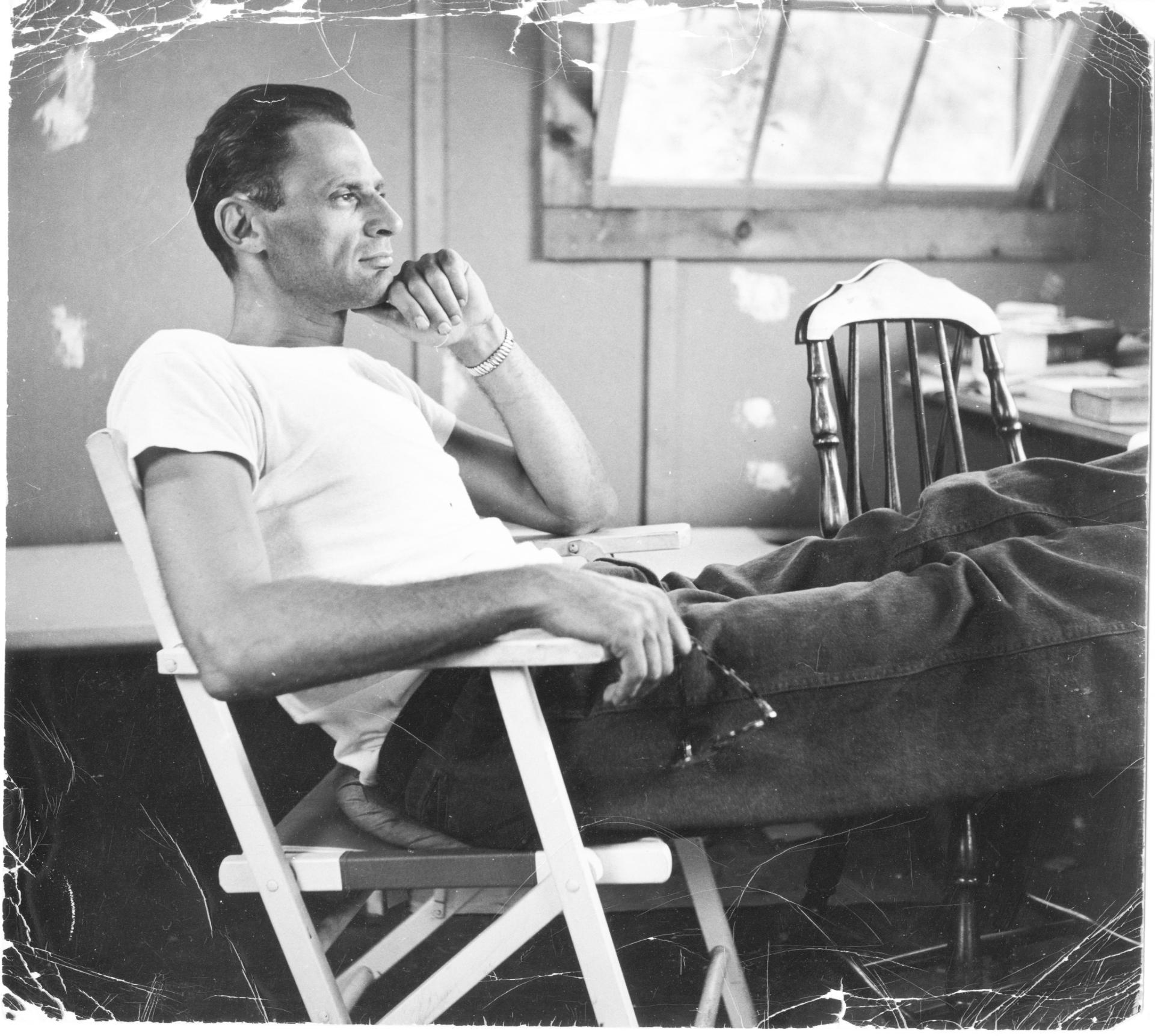 Playwright Arthur Miller (1915 2006). Photo: Robert Miller/Arthur Miller  Archive. Courtesy HBO.