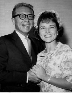 "Allen Ludden and Betty White met and fell in love as host and celebrity guest contestant, respectively, on the game show, PASSWORD. Their final passwords were ""Wedded Bliss."""
