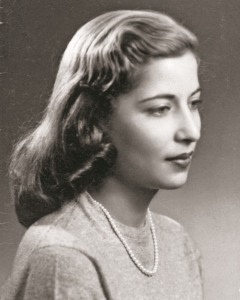 Ruth Bader Ginsburg's senior portrait at Cornell University. Photo: Collection of the Supreme Court of the United States/Focus Features.