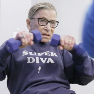 RUTH BADER GINSBURG (1933-2020) as seen in the feature-length documentary, RBG. Photo: Magnolia Pictures.