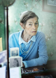 Acclaimed actress Glenda Jackson stars as Maud, whose struggles with dementia don't dampen her determination to resolve two mysterious disappearances in ELIZABETH IS MISSING on PBS MASTERPIECE. Photo: Mark Mainz, courtesy of STV Productions.