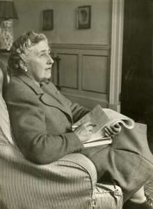 AGATHA CHRISTIE (1890-1976) published 66 murder mysteries featuring such iconic sleuths as Jane Marple and Hercule Poiret, numerous short stories and plays, including the longest-running play ever to hit the boards. Photo courtesy Christie Archive Trust.
