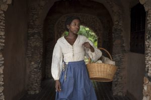 Adapted from Andrea Levy's award-winning novel, THE LONG SONG miniseries debuting on PBS MASTERPIECE follows the tumultuous life story of July (Tamara Lawrance), a ladies maid on a Jamaican sugar plantation before and after the Christmas Rebellion slave uprising of 1831. Photo: Carlos Rodriguez © Heyday Television.
