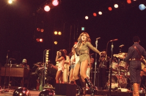 Tina Turner and the Ikettes performing in January 1976. Photo courtesy Rhonda Graam/HBO.