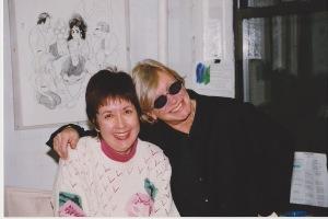 The way we were. Judith Trojan and Ann Roth, circa 1997. Photo: Paul Schneck.