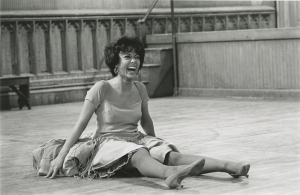 Rita Moreno during her grueling rehearsals for WEST SIDE STORY (1961). Photo courtesy MGM Media Licensing.